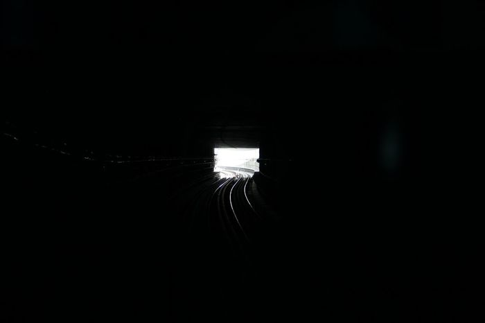 There's always a light in the end. Reflection No People Nature Outdoors Day Human Life Tubetrain City EyeEm Best Shots Space Modern Corridor Architecture Eyem Collection Illuminated Eyemphotos
