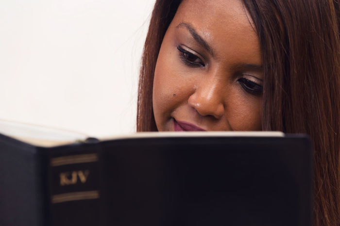 Solitary Devotional Bible Study Bible Study, Christian, Faith, Religion, Gospel, Born Again, Salvation, Spirituality, Holy, Home, Devotional, Young, Girl, Lady, Woman, Mother, African American, Committed, KJV, KJB, Discipleship, Believer