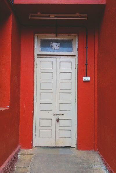 Well I am new to EyeEm so.... Eyeemoninstagram Vscocam First Eyeem Photo Doors Lover Red Highsaturation