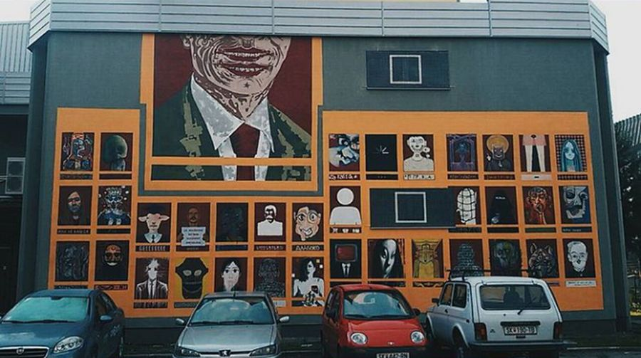 one of my favorite places in the city Street Art/Graffiti Macedonia Skopje Macedonia Streetphotography Architecture Outdoors First Eyeem Photo