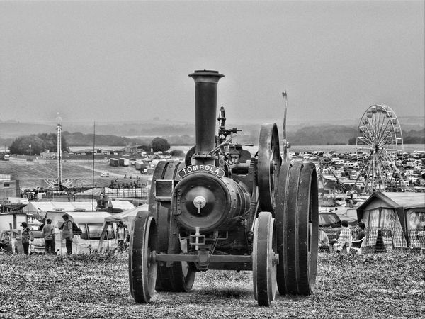 All The Fun Of The Fair Transportation Steam Traction Engine Great Dorset Steam Fair Black And White Great Day Out Relaxing Taking Photos