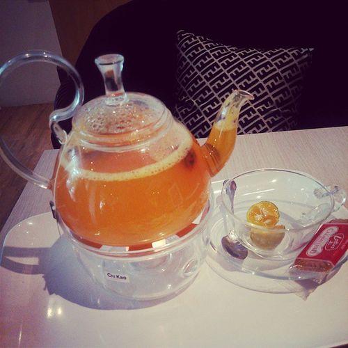 高雄, Kaohsiung ,FlowerWaffle, 桔茶, 下午茶 享受……角落一堣 ☕