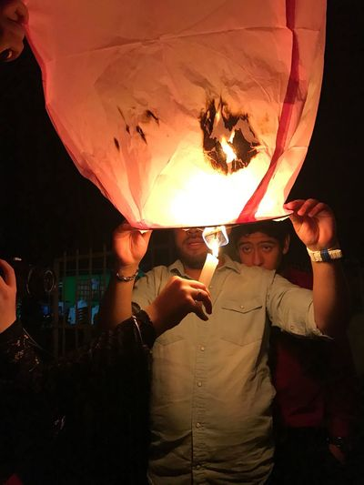 Lighting lanterns are the best especially if you are with your cousins Photocredstosis