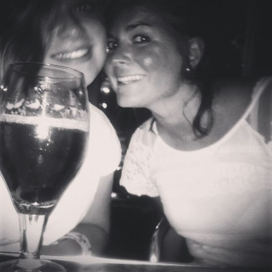 last in the Nitsa Club in Barcelone with my lovely sister ❤❤