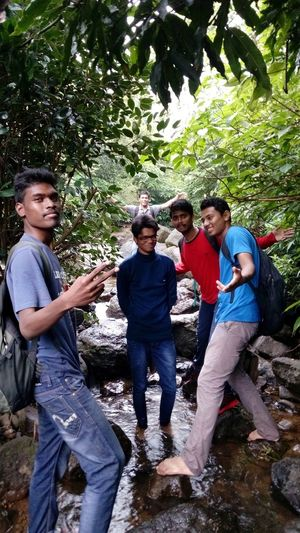 Fun Day Enjoyment Friendship Togetherness Smiling Happiness Hiking Adventures Nature Beauty In Nature Trees Forest High Mountain Treking Landscape Scenics Peace Adventure The Week On EyeEm