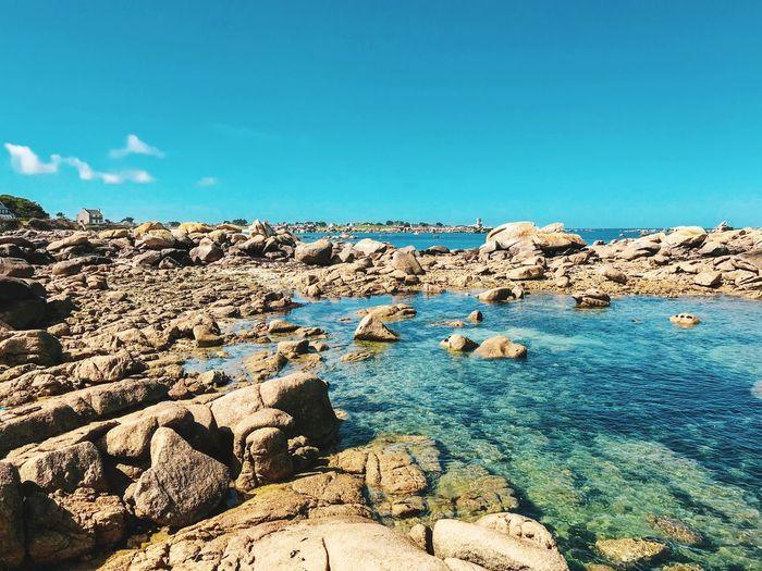 deserted brittany Rock Formation Beach Bretagne EyeEmNewHere