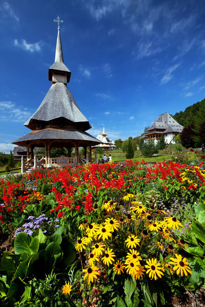 Canon Architecture Architecture_collection Barsana Barsana Monastery Monastery Outdoors Plant Religion Religious  Romania Sky Traditional Wooden