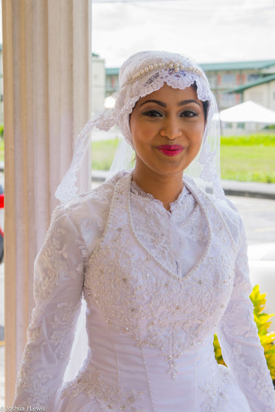 Portrait Smiling Happiness Lifestyles Beautiful Caribbean Trinidad And Tobago Stillife Muslimwedding Life Events Wedding Celebration Bride Wedding Dress