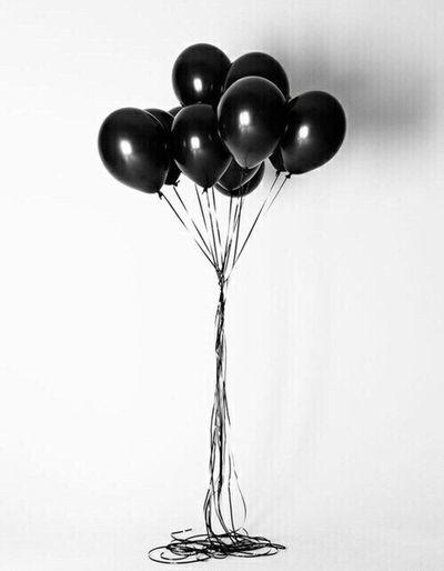 Balloons Black Beauty Beautiful Tumblr Strange Photography