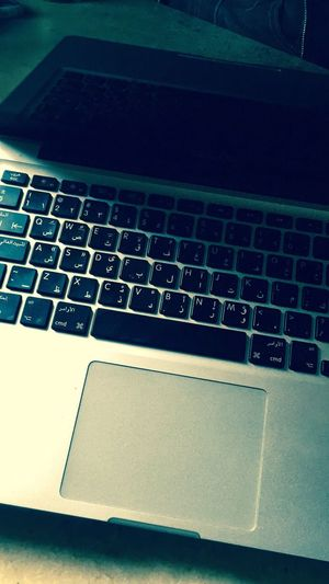 Technology Wireless Technology Laptop Computer Keyboard Computer Communication Connection Portability Indoors  Internet Close-up Office Computer Key Keyboard No People Day Mac MacBookPro