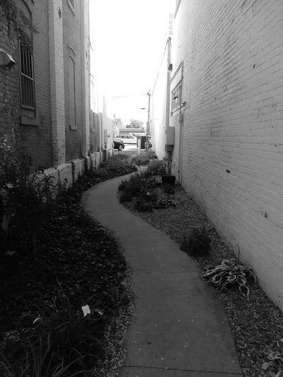 Alleyway Back Alleys Walkway
