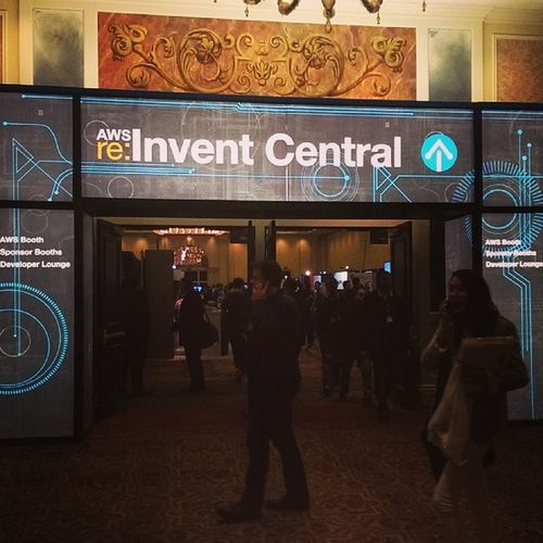 Perhaps that's the largest show I participate so far. Awsreinvent AWS