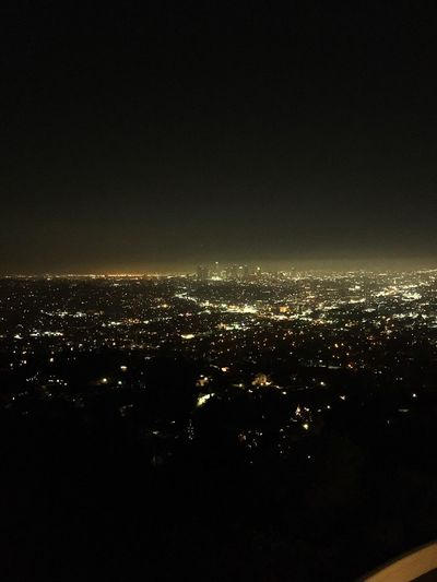 City Cityscape Illuminated Architecture Built Structure Copy Space Night Crowded Building Exterior Clear Sky Los Angeles Holloywoodandvine Dark City Life Sky Outdoors No People Residential District Distant Majestic Wide Shot