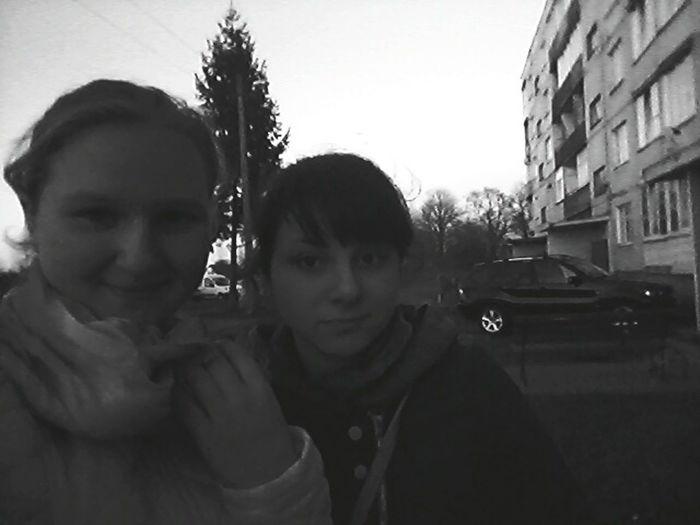 С подругой :*