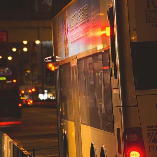 Illuminated Transportation Night Mode Of Transport No People Land Vehicle Outdoors Close-up The Street Photographer The Street Photographer - 2017 EyeEm Awards