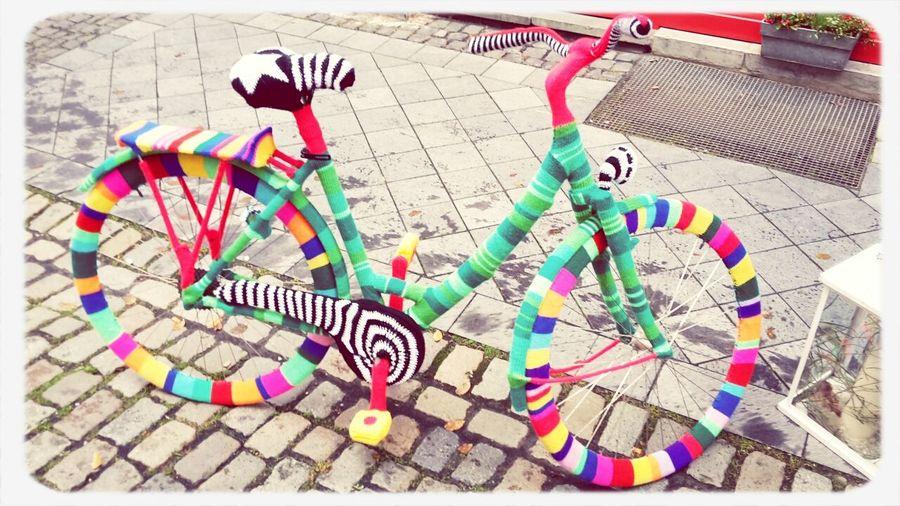 Annastr. Aachen Fahrrad Kunst Stricken Check This Out Hello World Taking Photos