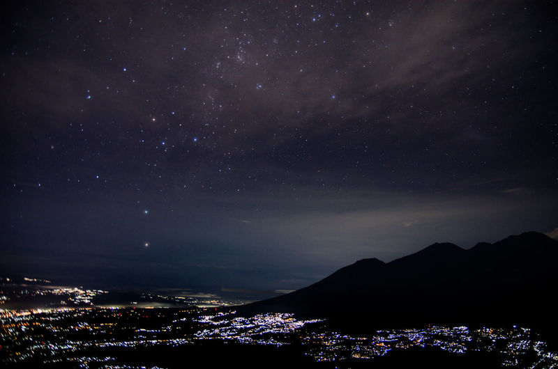 Night view from
