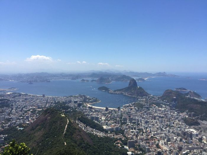 Pao de azúcar, Río de Janeiro Cityscape Trip Photo Trip Sea And Sky Blue No People