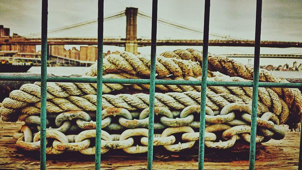 Brooklyn Bridge / New York I Love New York City New York ❤ South Street Seaport