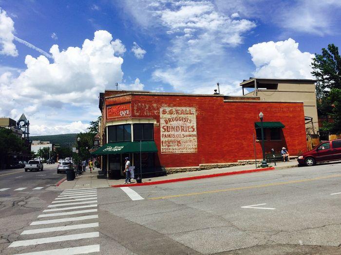 Beautiful Durango. Signpainter Nofilter Coloradosky