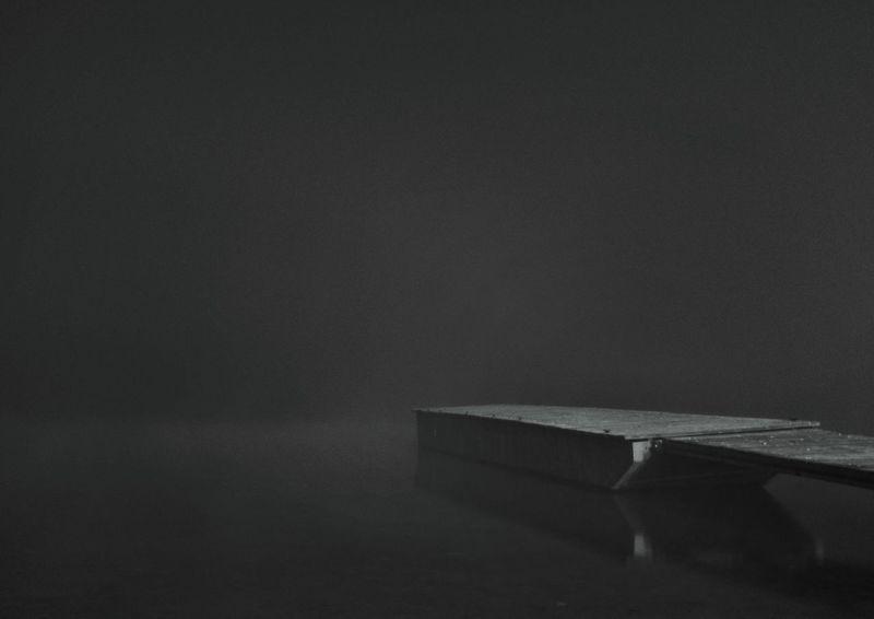 Pier Water Fog Shadows Meizu Mx5 Like Book