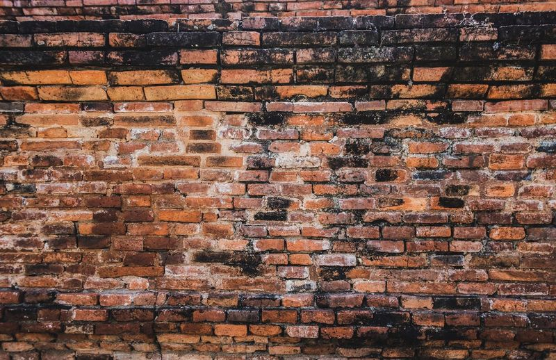 Brick Background Wallpapers Full Frame Backgrounds Pattern No People Architecture Abundance Multi Colored Textured  Built Structure Design Wall - Building Feature Day Art And Craft Repetition Brick Large Group Of Objects Brown Outdoors