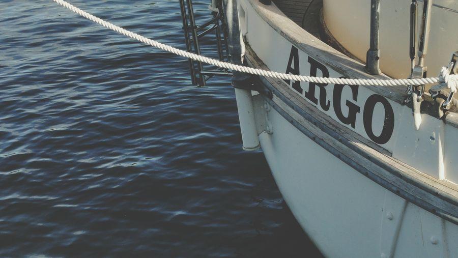 Docked Boat.