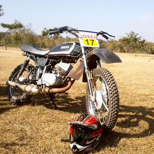 A classic is always classy Memories Beingakid Yamaharx Yamaharxking Yamaharx135 Knobbytyres Lovefordirtbikes😘😘😘