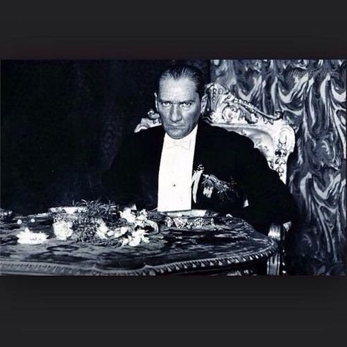 Atatürk People Immortal Portrait November 10,1938