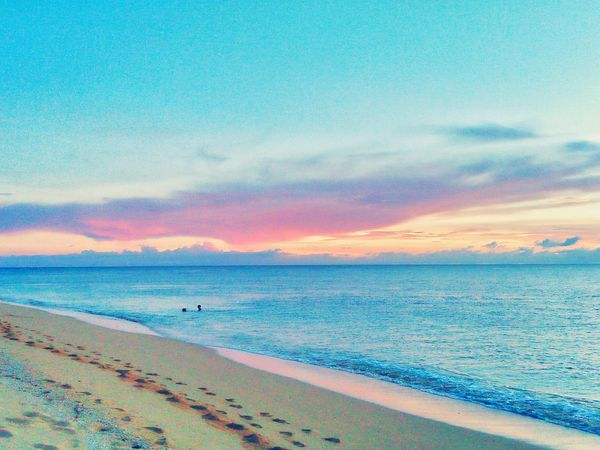cotton candy skies. 😍😍😍 #summer #beach #Nature  #photography #visitphilippines #Wanderlust #traveler #Chillin #beachislife #throwback #likeforlike #likemyphoto #qlikemyphotos #like4like #likemypic #likeback #ilikeback #10likes #50likes #100likes #20likes #likere #landscape #nature #photography #sunset #sun #clouds #skylovers #skyporn #sky #beautiful #sunset #clouds And Sky #beach #sun _collection #sunst And Clouds #wheninjomalig #solotraveler #sky #summerishere #beachislifer Lifeisbeautiful EyeEm Selects Sunrise Sunshine Clearsky