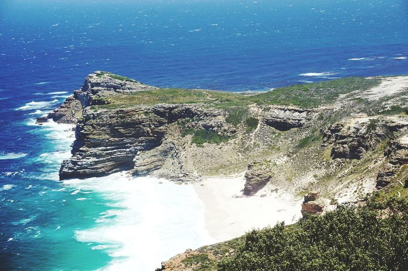 Cape Of Good Hope Beauty In Nature Scenics Rock - Object No People Day Beach