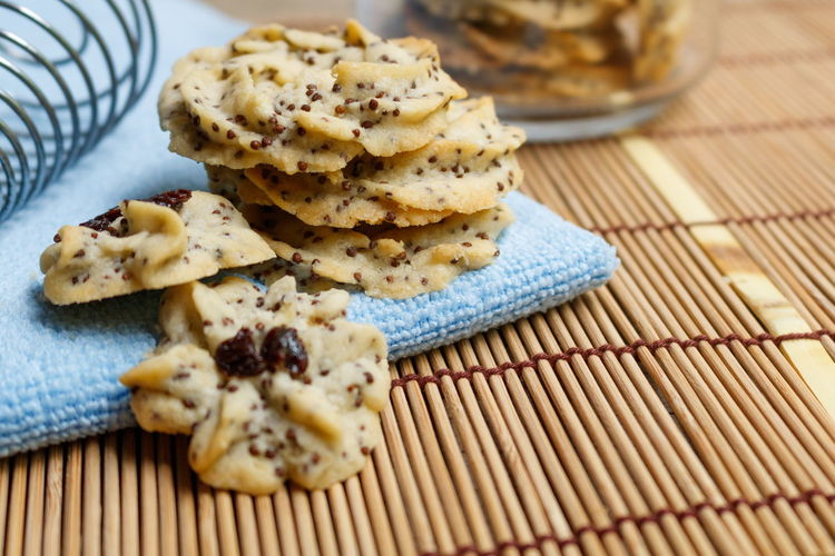 Butter cookie mixed with perilla seed Butter Cookies Homemade Snack Bakery Products Biscuit Breakfast Dessert Food Food And Drink Hand Whisk Healthy Eating Indulgence No People Perilla Ready-to-eat Sweet Food Table