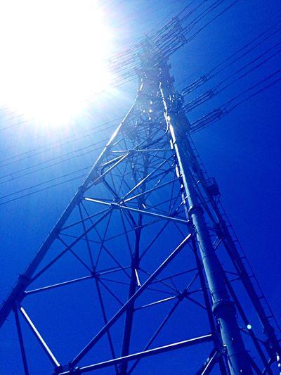 Steel tower Japan 千葉 日本 鉄塔 Steeltower Blue Sky