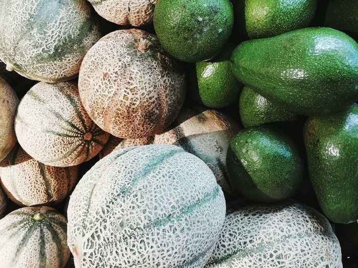 Avocado Melon Market Colorful Healthy Eating Healthy Healthy Food Colors Color Food Foodphotography Healthyfood EyeEm Best Shots Taking Photos Taking Pictures Raw Food Avocad Backgrounds Full Frame Textured  Stack Close-up For Sale Detail Shop Display Retail Display Various
