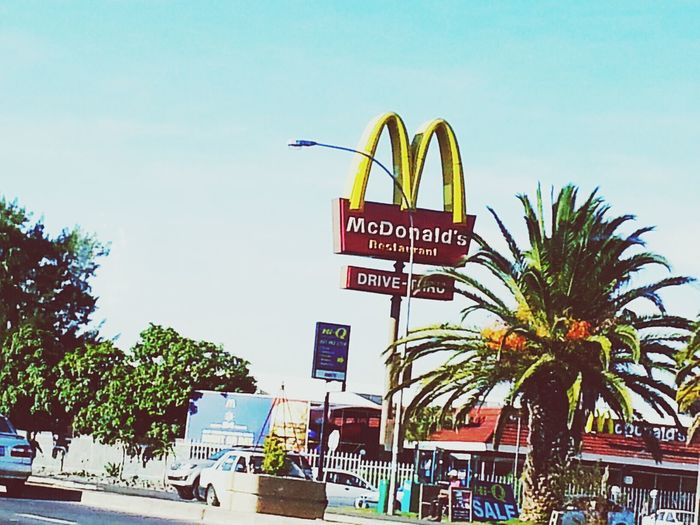 here a mac there a mac everywhere a mac ..... Mac Donald Fun Times Fast Food
