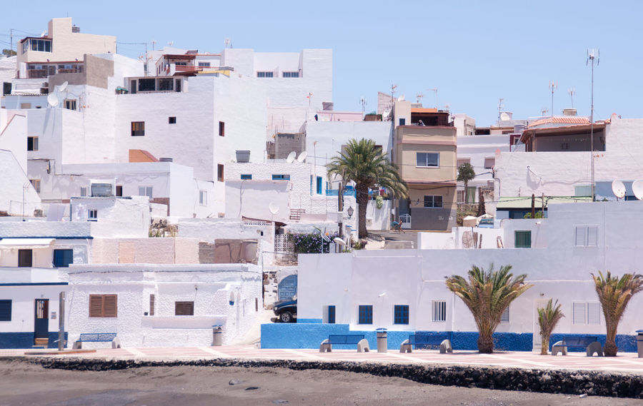 Architecture Building Exterior Canarian Islands Cityscape Day Dorf Kanarische Inseln No People Outdoors SPAIN Summer Village White Houses