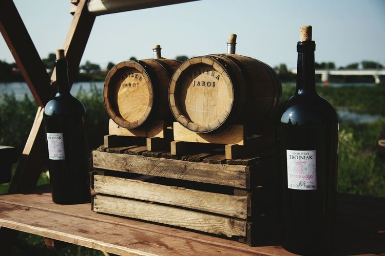 Wine Moments Outdoors Wine Tasting Wine Bottle Vineyards  Rustic EyeEmNewHere Poland Wine Not