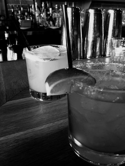 Hanging Out Black & White California Love Happy Hour Monochrome Delish Tequila