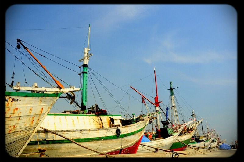 Waiting to Depart Streetphotography Boats INDONESIA Nikon Port Eye4photography  Wonderful Indonesia