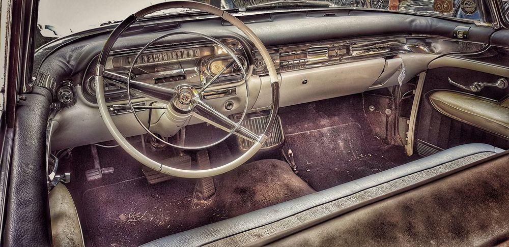 vintage car Steringwheel Car Classic Oldstuff Metal Vehicle Part
