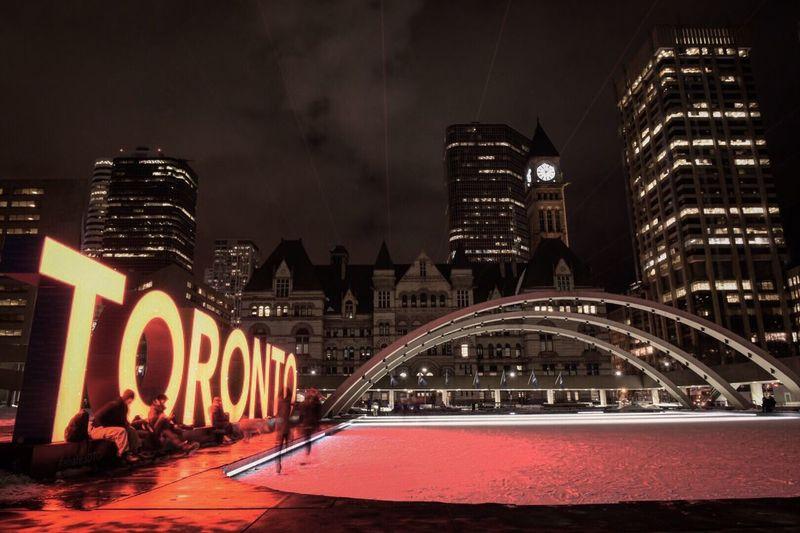St.Lawrence Market Buildings Toronto Nightphotography Longexposurephotography