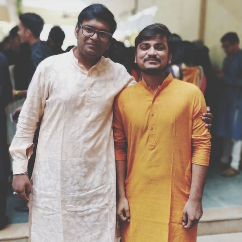 some best friend are epic in ours life EyeEm Selects City Friendship Men Portrait Togetherness Standing Eyeglasses  Fashion Arts Culture And Entertainment Shaved Head Music Concert Stage Light Hair Loss Music Festival Cancer - Illness Live Event Entertainment Event Male Friendship