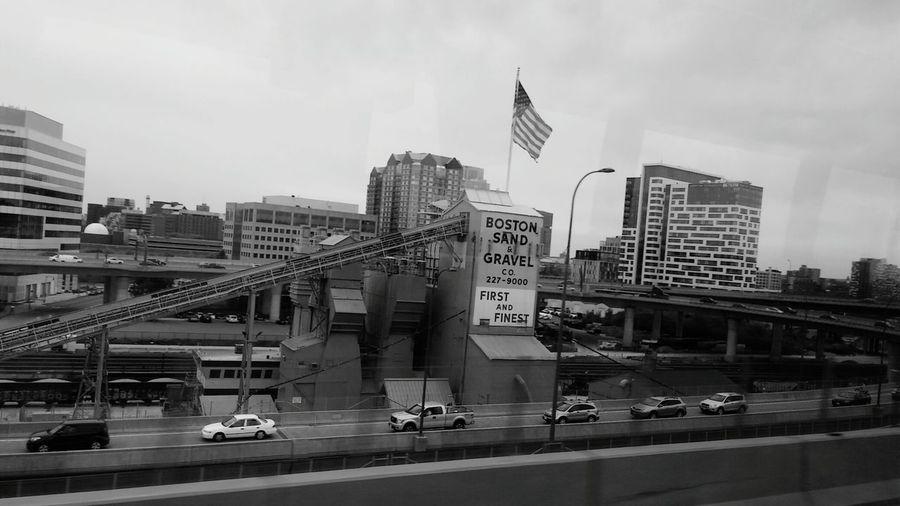 Found On The Roll Boston Sandandgravel Bridge