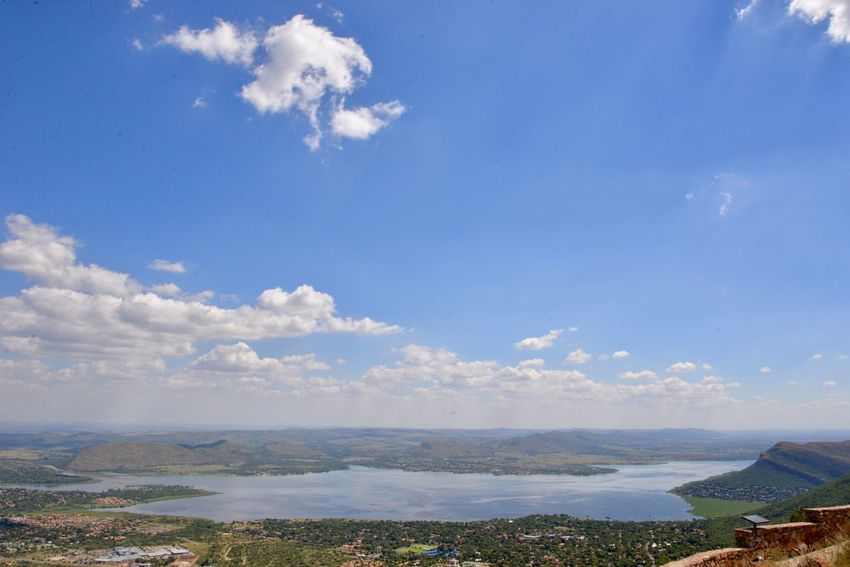 Hartebeespoort dam Cloud - Sky Sky Scenics Nature Landscape Beauty In Nature Water Blue Tranquility Mountain Tranquil Scene Day Outdoors No People Sea Hartbeespoort Dam Wall Hartbeespoort Hartbeespoort Dam Hartebeespoort South Africa
