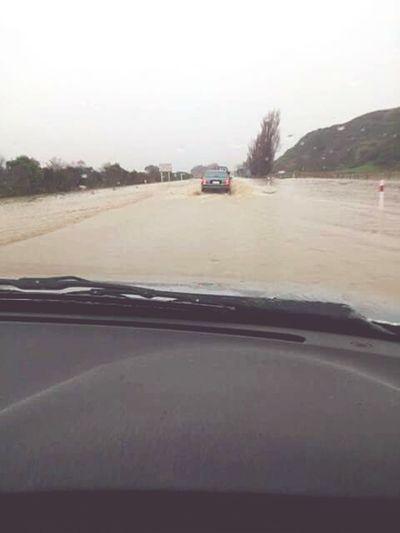 Flooding Whanganui Bay Wanganui Floods Flooded Road
