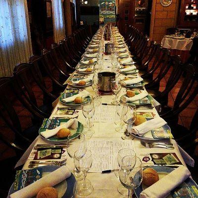 Super Mesa para la Cena Armonizada del Wineuptour en Tomelloso Restaurante Casajusto