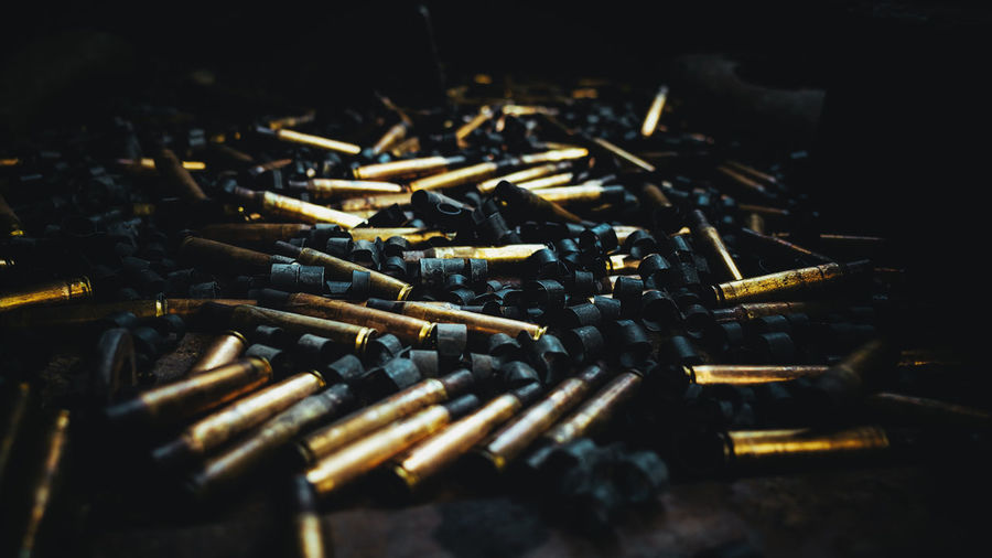 Bullet Bullets Close-up Gun Hochiminhcity Large Group Of Objects Macro_collection No People Vietnam War Weapon