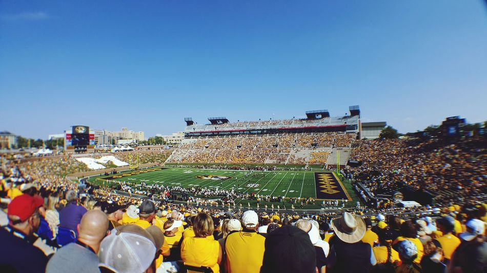 When all you want is a win. 🐯🏈 Crowd People Audience Fan - Enthusiast Entertainment Event Gameday Mizzou