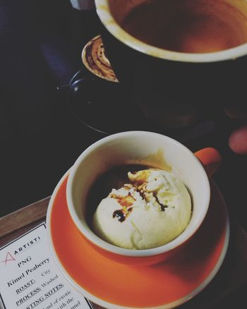 Elixir Coffee Cup Coffee Cup And Saucer Affogato Coffee Dessert Italian Dessert Cups And Saucers Fika Time Caffeine EyeEm Selects Food Food And Drink Healthy Eating No People Drink Freshness Ready-to-eat Indoors  Close-up Refreshment Table High Angle View Indoors  Plate Sweet Food