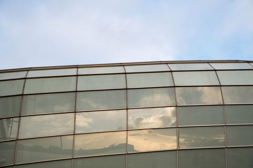Architecture Bremerhaven Building Exterior Built Structure Cloud - Sky Day Glass - Material Hoffi99 Modern No People Outdoors Sky Window